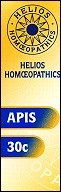 Helios homoeopathic remedy: Apis 30