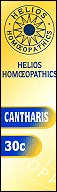 Helios homoeopathic remedy: Cantharis 30.