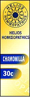 Helios homoeopathic remedy: Chamomilla 30.
