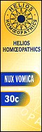 Helios homoeopathic remedy: Nux Vomica 30.
