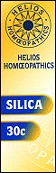 Helios homoeopathic remedy: Silica 30.